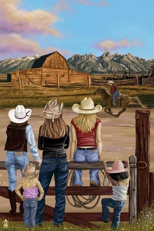 lantern-press-cowgirls-scene