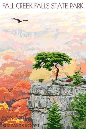 lantern-press-fall-creek-falls-state-park-tennessee-buzzards-roost