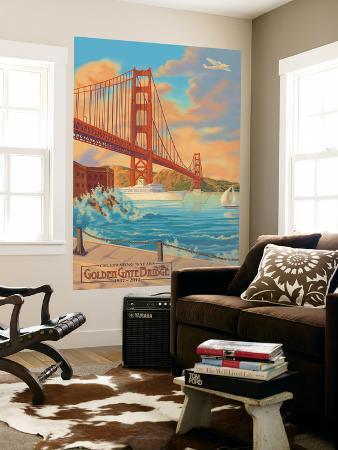 lantern-press-golden-gate-bridge-sunset-75th-anniversary-san-francisco-ca