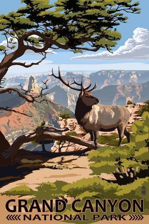 lantern-press-grand-canyon-national-park-elk-point-imperial