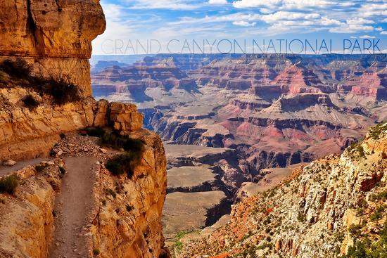 lantern-press-grand-canyon-national-park-trail-view