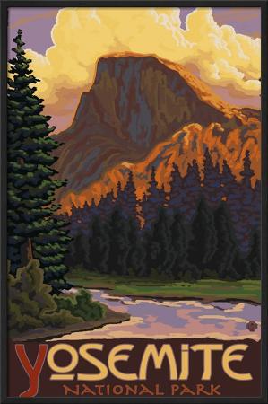 lantern-press-half-dome-yosemite-national-park-california