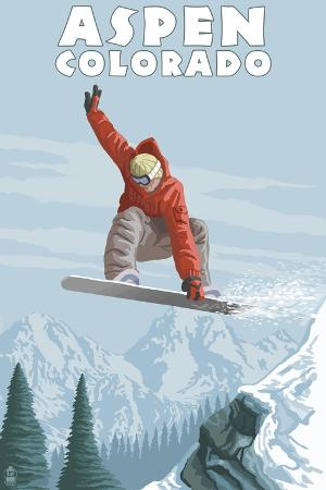 lantern-press-jumping-snowboarder-aspen-colorado