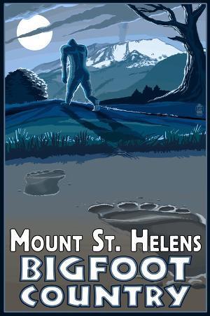 lantern-press-mount-st-helens-bigfoot-country