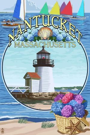 lantern-press-nantucket-massachusetts-montage