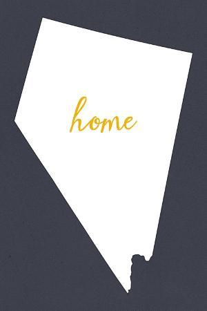 lantern-press-nevada-home-state-white-on-gray