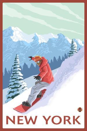lantern-press-new-york-snowboarder-scene