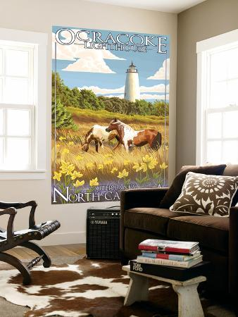lantern-press-ocracoke-lighthouse-outer-banks-north-carolina