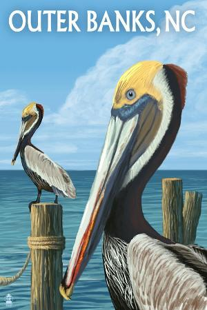 lantern-press-outer-banks-north-carolina-pelicans