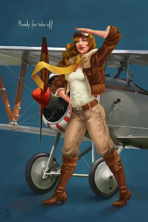 lantern-press-pinup-girl-aviator-ready-for-take-off