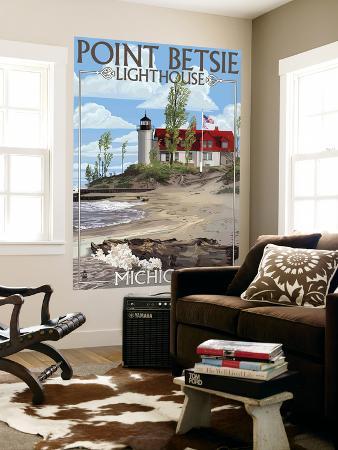 lantern-press-point-betsie-lighthouse-michigan
