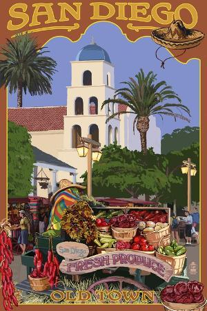 lantern-press-san-diego-california-old-town