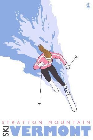 lantern-press-stratton-mountain-vermont-stylized-skier