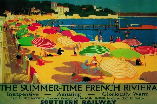 lantern-press-summertime-french-riviera-vintage-poster-europe