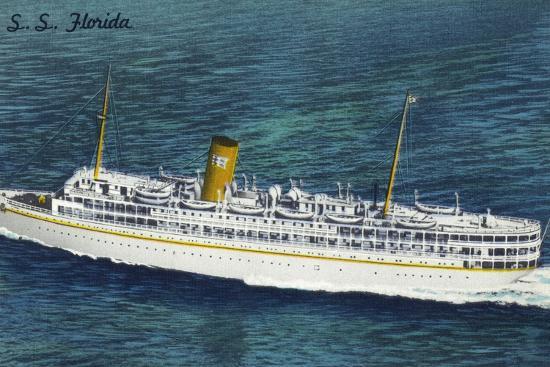 lantern-press-view-of-nassau-cruises-liner-ss-florida