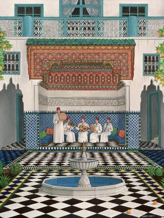 larry-smart-a-riad-in-marrakech-1992
