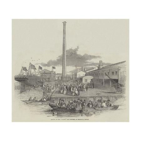 launch-of-the-taman-iron-steamer-at-millwall-poplar