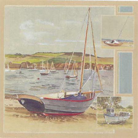 laurence-david-les-bateaux-sur-la-plage