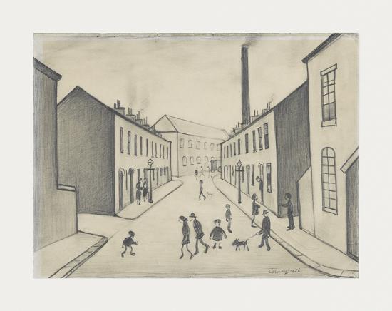 laurence-stephen-lowry-north-james-henry-street-salford-1956