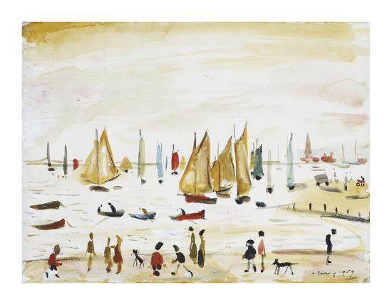 laurence-stephen-lowry-yachts-1959