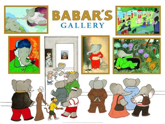 laurent-de-brunhoff-babar-s-gallery