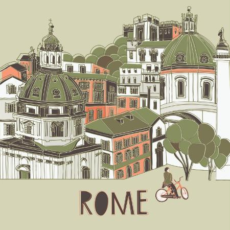 lavandaart-rome-greeting-card-design