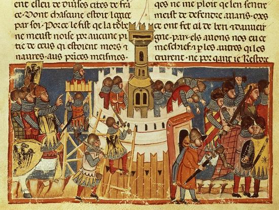 laying-siege-on-a-fortress-miniature-from-the-facts-of-the-romans-italy-14th-century