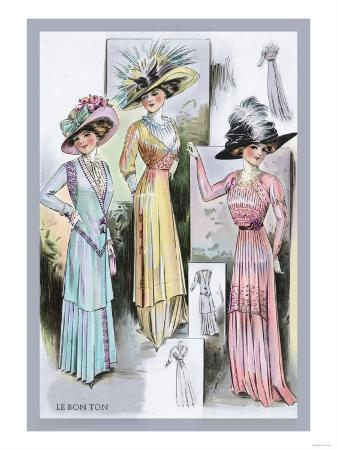 le-bon-ton-a-trio-in-pastels-and-hats