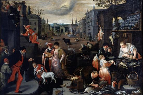 leandro-bassano-february-from-the-series-the-seasons-late-16th-or-early-17th-century