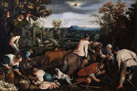 leandro-bassano-october-from-the-series-the-seasons-late-16th-or-early-17th-century