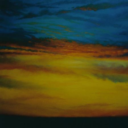 lee-campbell-golden-sky-2003-sunset