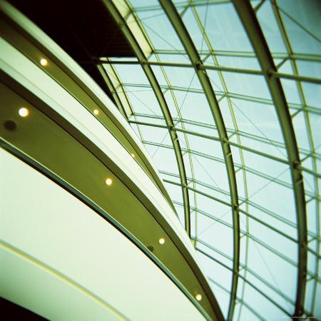 Interior view of balconies and windows the sage music hall gateshead tyne and wear england uk