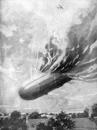 lemonier-zeppelin-destroyed-by-an-english-aviator-1915