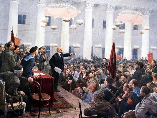 lenin-haranguing-deputies-of-the-2nd-soviet-congress-smolny-palace-st-petersburg-1917