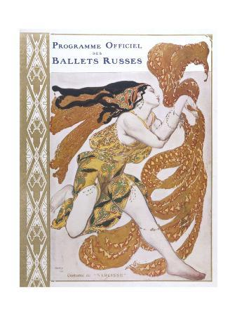 leon-bakst-narcisse-cover-for-the-offical-programme-of-narcisse
