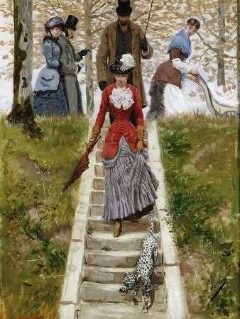leon-joseph-voirin-the-promenade