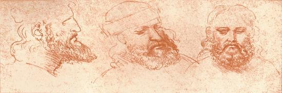 leonardo-da-vinci-drawing-of-oriental-heads-in-red-chalk-c1472-c1519-1883