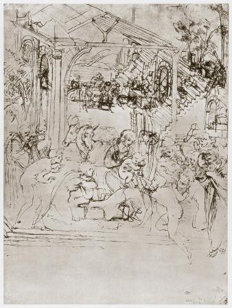 leonardo-da-vinci-the-adoration-of-the-kings-c1480