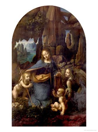 leonardo-da-vinci-the-virgin-of-the-rocks-with-the-infant-st-john-adoring-the-infant-christ-circa-1508