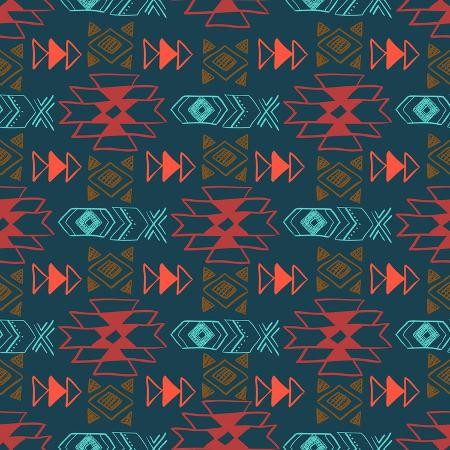 lianella-native-american-seamless-pattern-with-abstract-aztec-symbols-colored-hand-drawn-doodle-vector-back