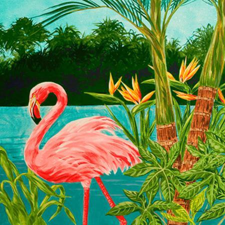 linda-baliko-hot-tropical-flamingo-i