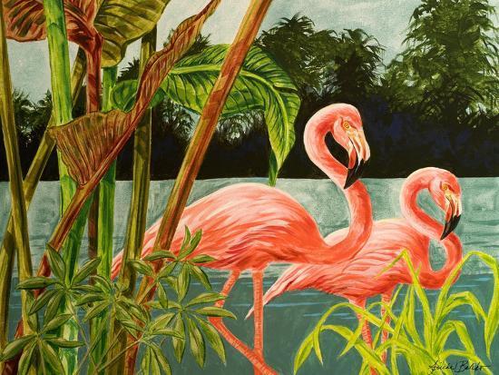 linda-baliko-tropical-flamingo-ii