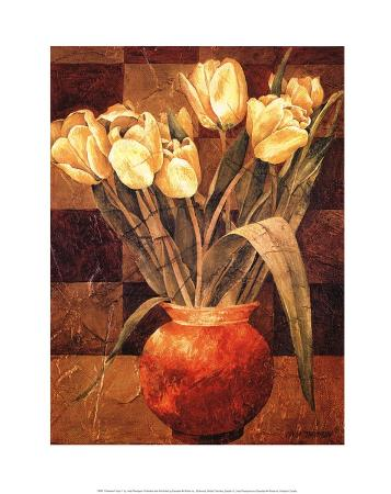 linda-thompson-checkered-tulips-i