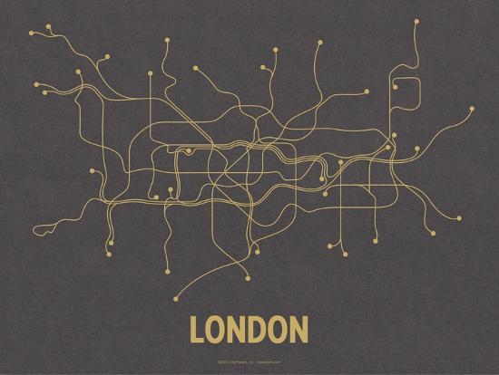 line-posters-london-dark-gray-mustard