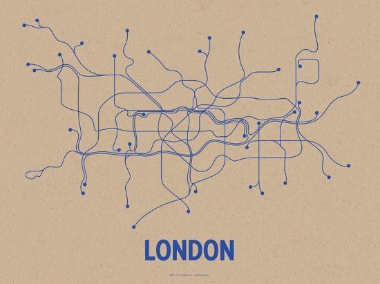 line-posters-london-oatmeal-blue