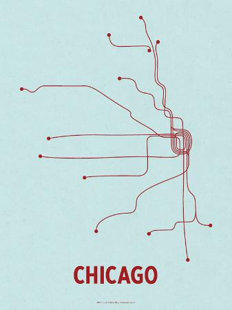 lineposters-chicago-light-blue-red