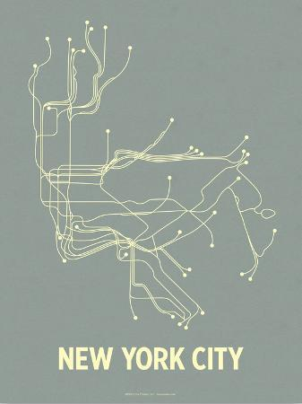 lineposters-new-york-city-steel-blue-yellow