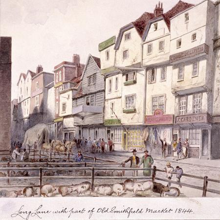 long-lane-smithfield-london-1844