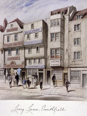 long-lane-smithfield-london-c1844