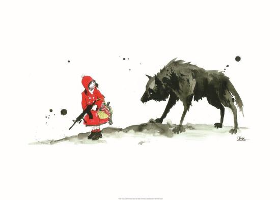 lora-zombie-red-riding-hood